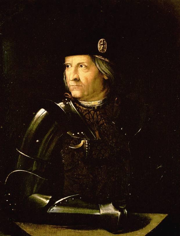 Ercole d'Este (1431–1505), der Herzog des kleinen italienischen Stadtstaates Ferrara, verfolgte mit Leidenschaft die nautischen Neuigkeiten und Entdeckungen. Notfalls auch per Auftragsdiebstahl auf fremdem Territorium.