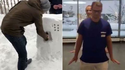"""Klimaforscher: """"Schneechaos war eine seltene Laune der Natur"""""""