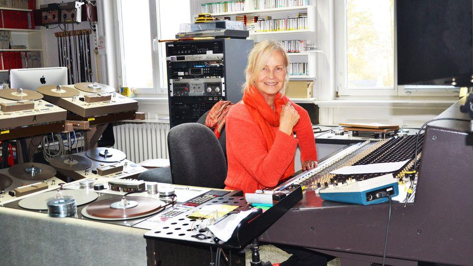 Hörspiel-Produzentin Heikedine Körting, 73