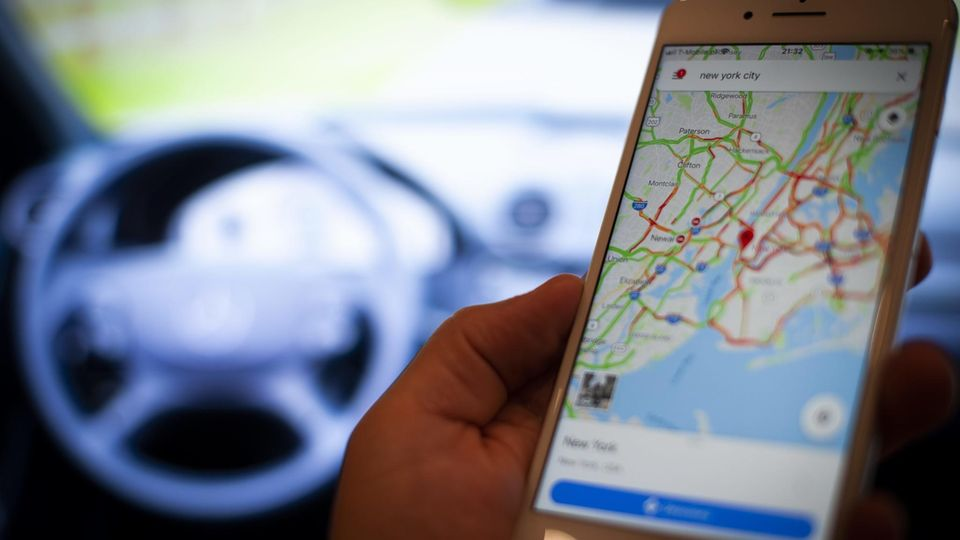 Google Maps - Tempolimit - Blitzer