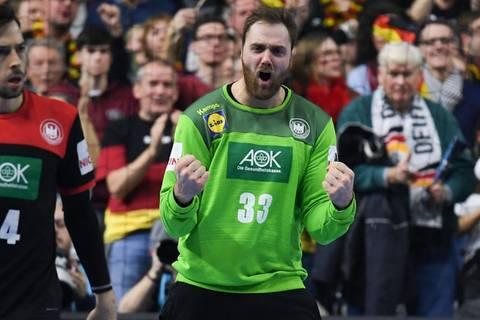 """Handball-WM: Nationalkeeper Wolff kritisiert ZDF live im TV: """"Das geht so auf den Sack"""""""