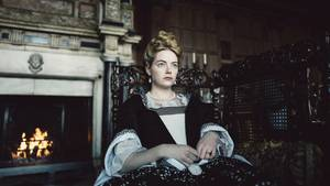 "Emma Stone in ""The Favourite"""