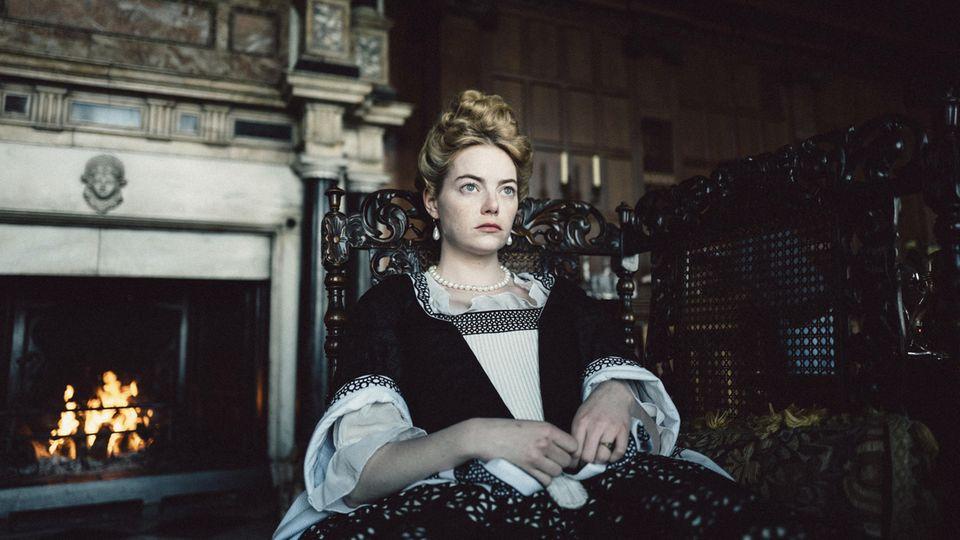 "Emma Stone in ""The Favourite"""