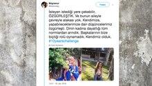 Eine junge Frau twittert ein Foto von sich vor zehn Jahren mit Kopftuch – und heute ohne Kopftuch