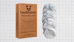 Bambusliebe nachhaltige Abschminkpads