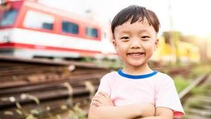China diskutiert, ob Kinder auf Zugreisen zu stark nerven