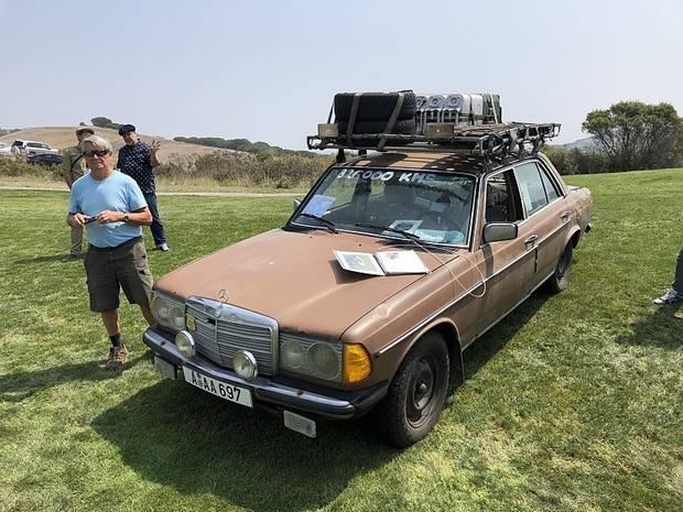 Mercedes 200 D - der braune Benz von 1982