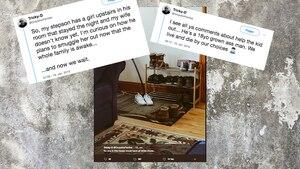 USA: Sohn will Frauenbesuch aus Haus schmuggeln – und Twitter mit