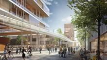 Entwürfe der geplanten Science City