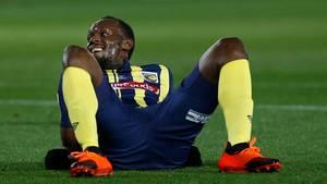 Superstar Usain Bolt hat seinen Traum vom Profifußball aufgegeben