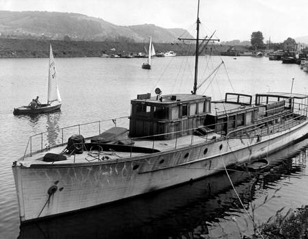 "Görings Jacht ""Carin II"" im Jahr 1960"