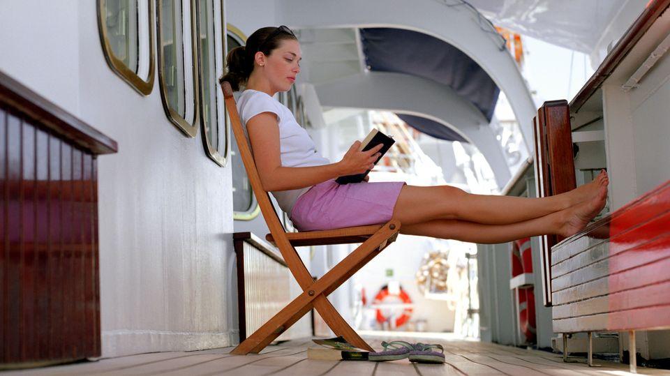 Seetage sind Lesetage