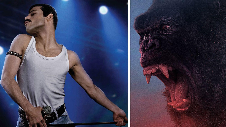"""Die Streaming-Dienste setzen im Februar vor allem auf Filme wie """"Bohemian Rhapsody"""" und """"Kong: Skull Island"""""""