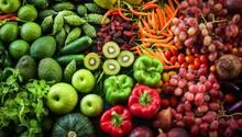 Essen nach Farben