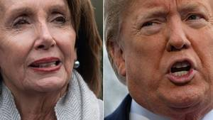 Donald Trump und Nancy Pelosi