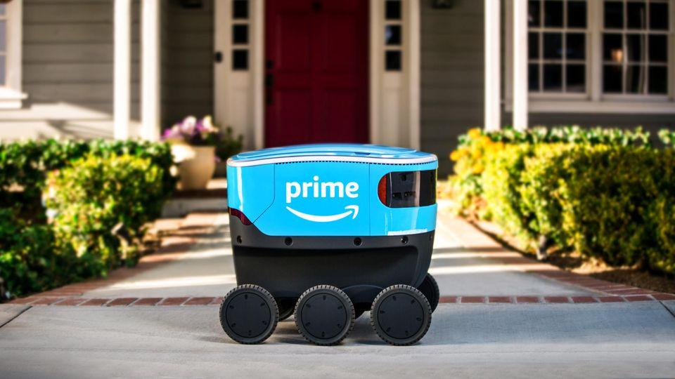 "Amazon testet Lieferroboter ""Scout"""