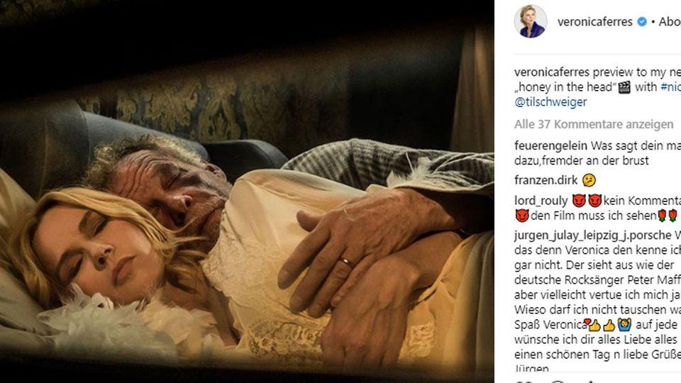 Veronica Ferres auf Instagram