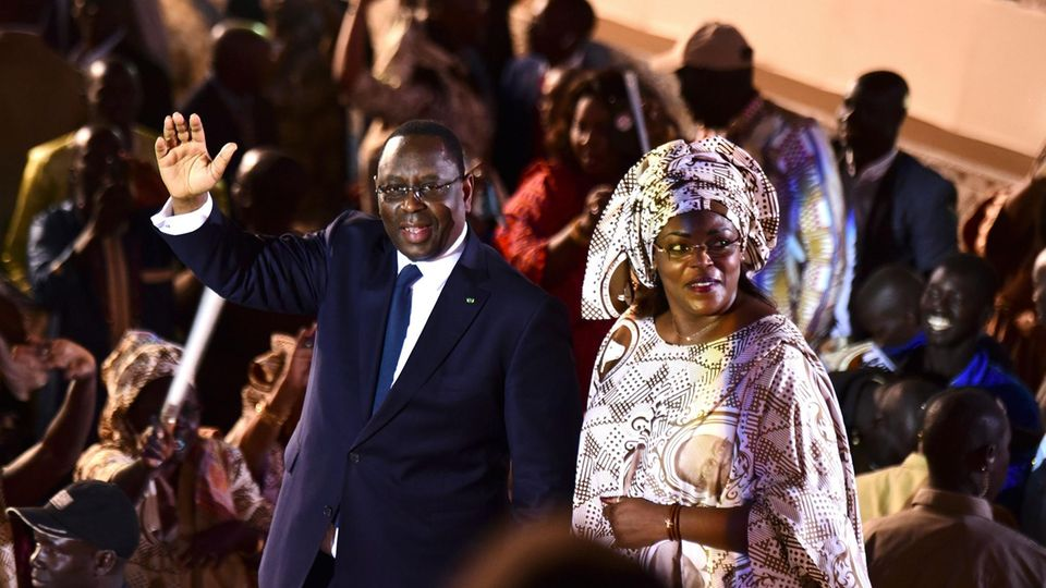 Marieme Faye Sall, Senegals First Lady