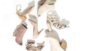 Verschiedene Arten von Schuhen mit unterschiedlichen Absätzen