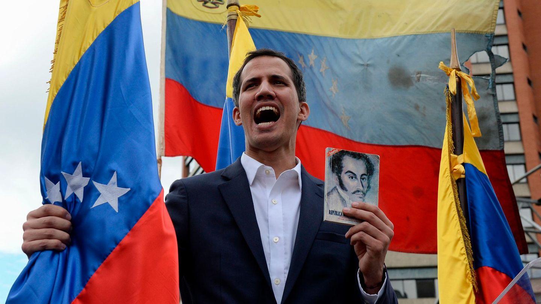 Venezuela - Juan Guaidó erklärt sich selbst über Übergangspräsidenten