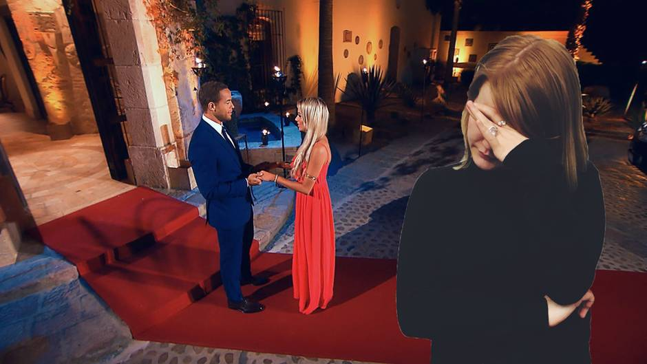 """Andrej und Jade in der ersten Folge vom """"Bachelor"""""""