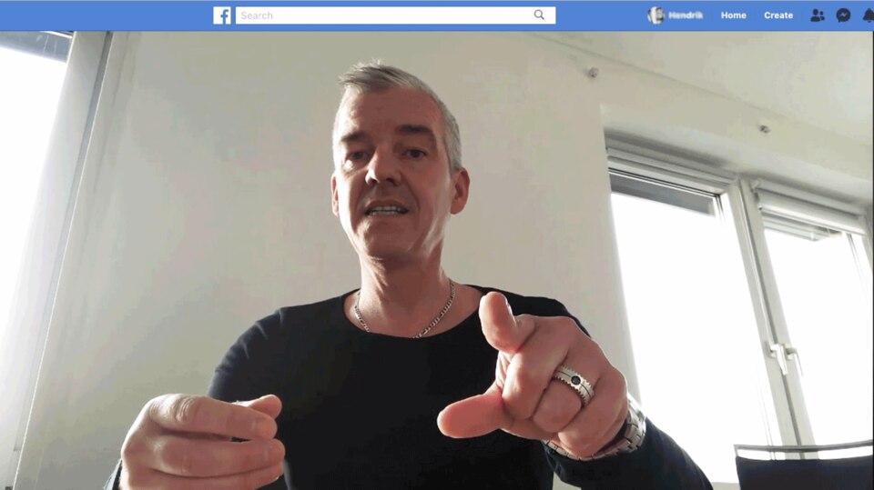 """Screenshot aus dem Facebook-Video """"Metzger gegen Tiermord"""""""