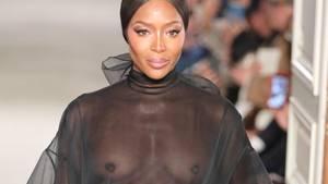 Naomi Campbell trägt poetische Valentino-Mode