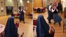 """Queen """"We Will Rock You"""": Diese Nonnen rocken richtig – das Beste ist das Luftgitarren-Solo"""