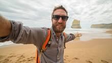 Die Welt verbessern - oder die Welt bereisen? Einige Gewinner gönnten sich vom Grundeinkommen weite Flugreisen - zum Beispiel nach Australien (Symbolbild)