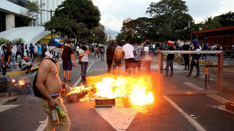 Demonstration in Caracas