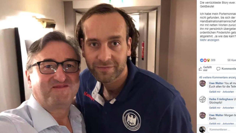 Handball-WM 2019: Uwe Walter und der ehrlicheFinder, Silvio Heinevetter