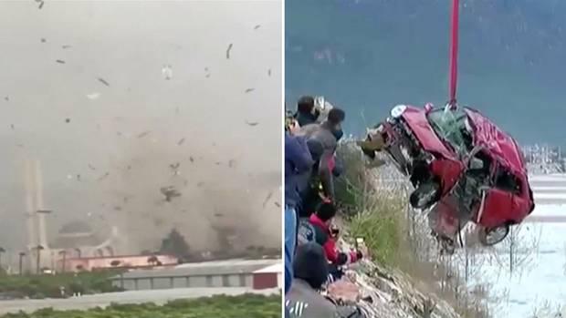 Türkei: Heftiges Unwetter in Antalya – Junge Frau ertrinkt in ihrem Auto