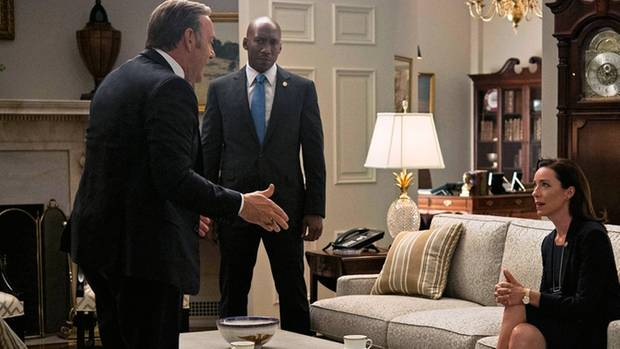 "Mahershala Ali als Strippenzieher in ""House of Cards"""