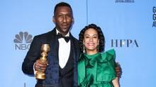 Beste Rolle: Gerade gewann Ali den Golden Globe, den er hier an der Seite seiner Frau Amatus Sami-Karim vorzeigt