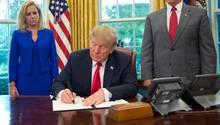 Donald Trump will offenbar den Nationalen Notstand ausrufen