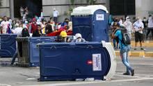 In Venezuela eskalieren seit Tagen die Proteste