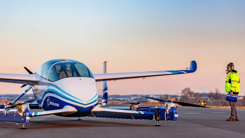 Boeing entwickelt autonomes Flugtaxi: Vision der Zukunft