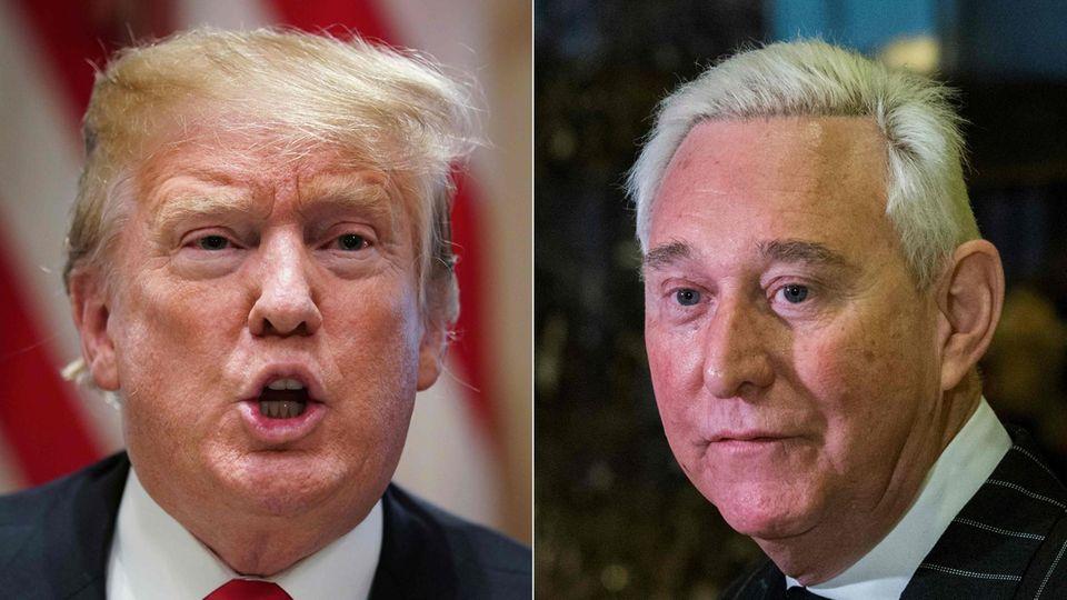 """Langjähriger Trump-Berater Roger Stone will """"unter keinen Umständen"""" gegen den Präsidenten aussagen"""
