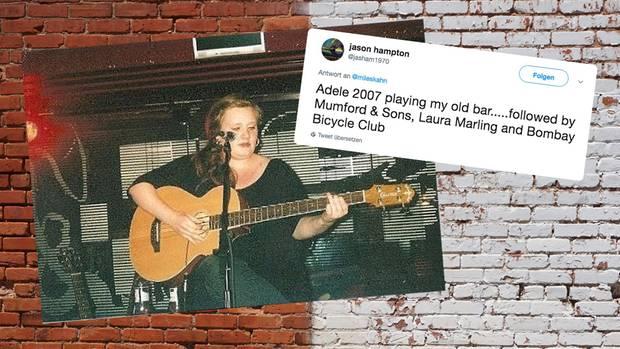 Twitter: Stars wie Adele bevor sie berühmt wurden