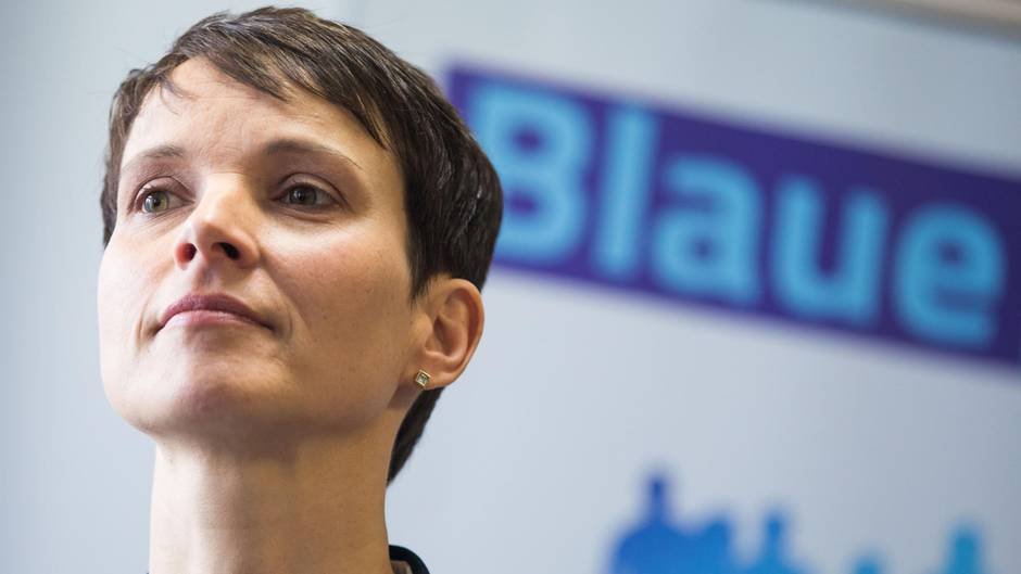 Die ehemalige AfD-Chefin Frauke Petry