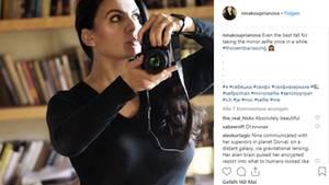NinaKouprianova liebt ihre Kamera und ihren Hund.