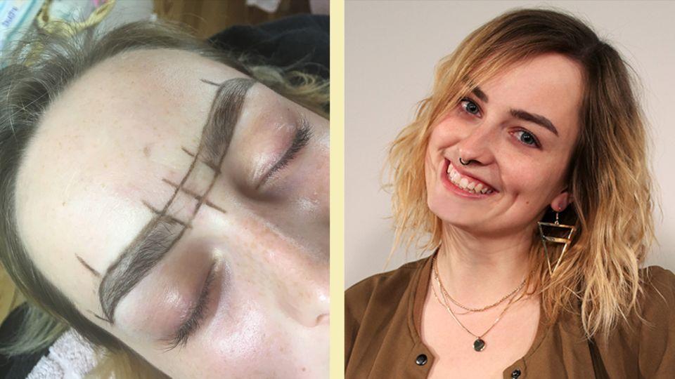 Microblading: Selbstversuch Augenbrauen