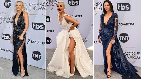 Stylewatch SAG Awards: Hauptsache, ein Schlitz im Kleid