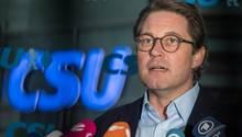 Andreas Scheuer - Klarheit in Sachen Feinstaub, Fahrverbote, Grenzwerte
