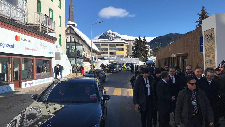 Towards a Greener Davos