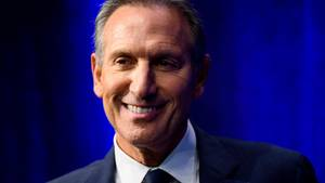 "Howard Schultz bei der Präsentation seines Buches ""From The Ground Up"" in New York"