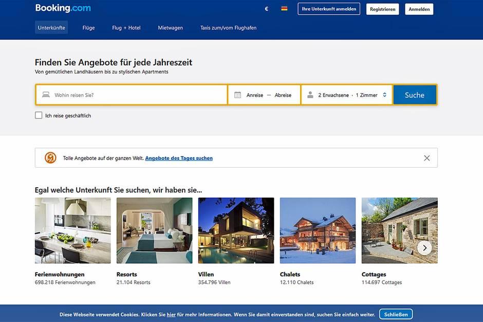 Die Rankings großer Hotel-Buchungsportale stoßen auf Kritik bei Verbrauchschützern und Hoteliers.