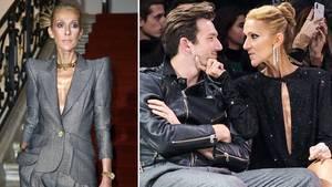 Céline Dion und Pepe Muñoz bei den Haute-Couture-Schauen in Paris