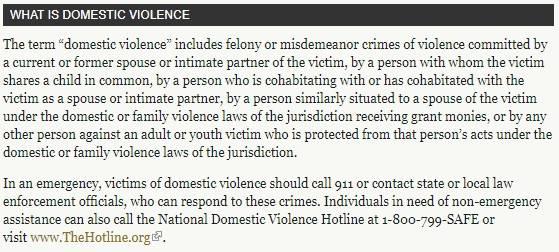 """""""Was ist häusliche Gewalt?"""": So definiert das Justizministerium unter Donald Trump den Begriff"""