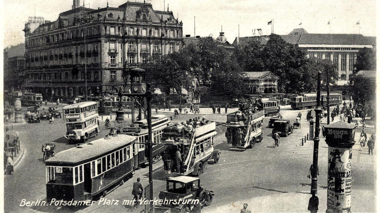 Der Potsdamer Platz in Berlin Anfang der 1930er Jahre